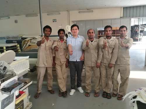 Oman-customer-with-our-technician.jpg