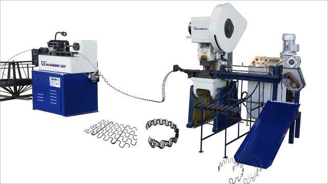 automatic s shape spring machine production line