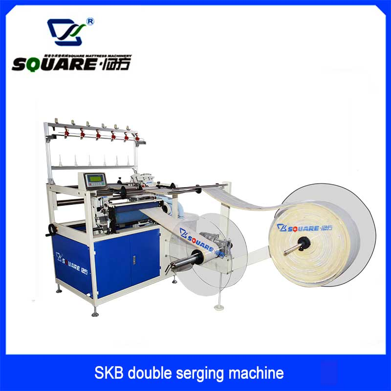 SKB Mattress Double Serging Machine