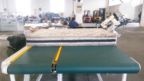 final checking mattress tape edge machine sewing a mattress