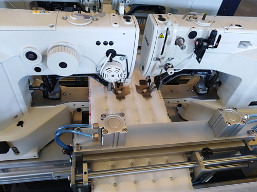 jump tack stitching the mattress border