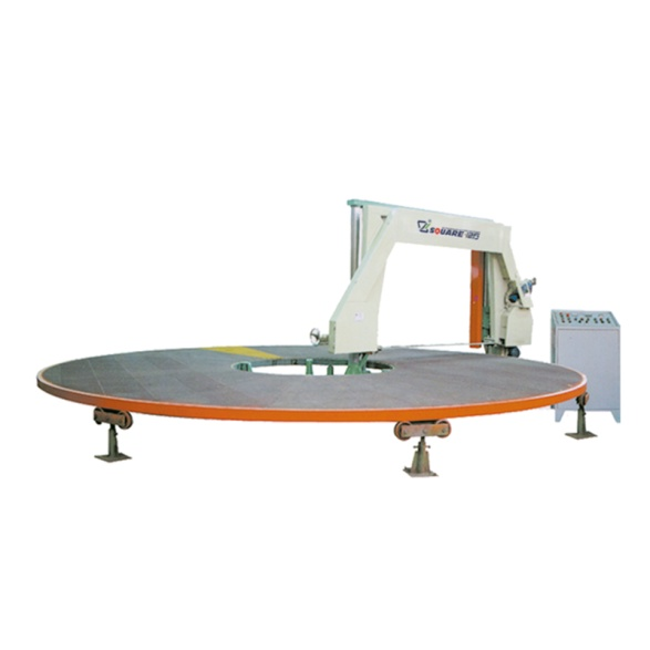 sponge cutting machine_disc_slice_sponge _cutting _machine