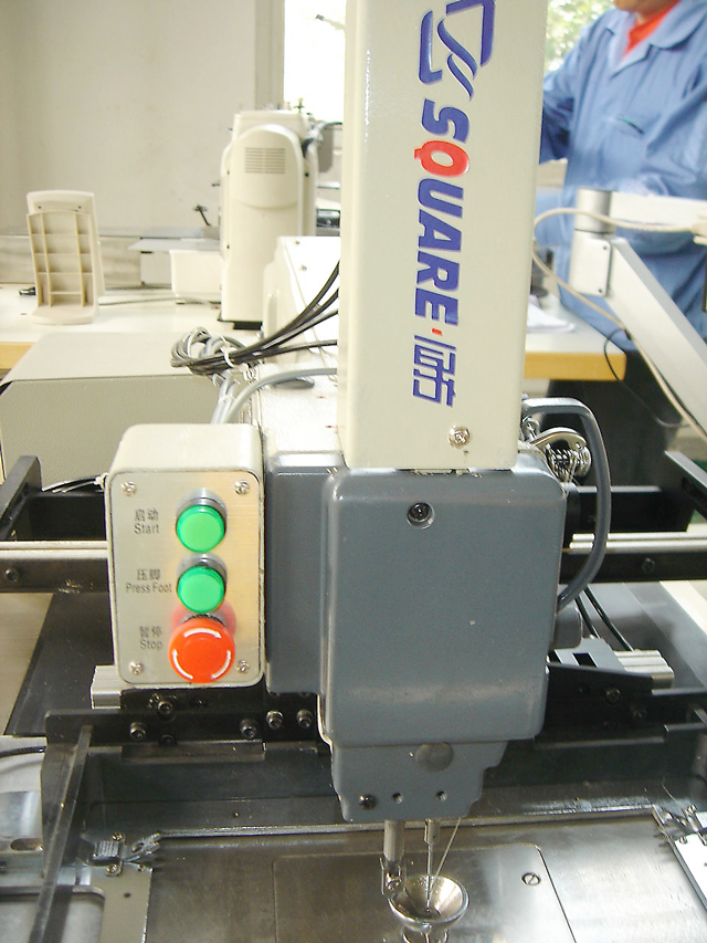 ZJQ Automatic Zigzag Mattress Label Machine