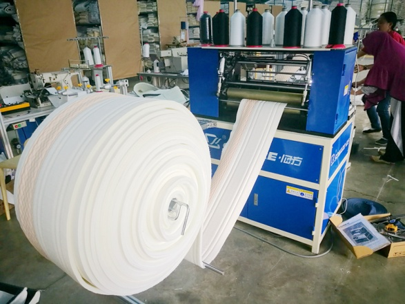 How to maintain multi-needle mattress border quilting machine in summer