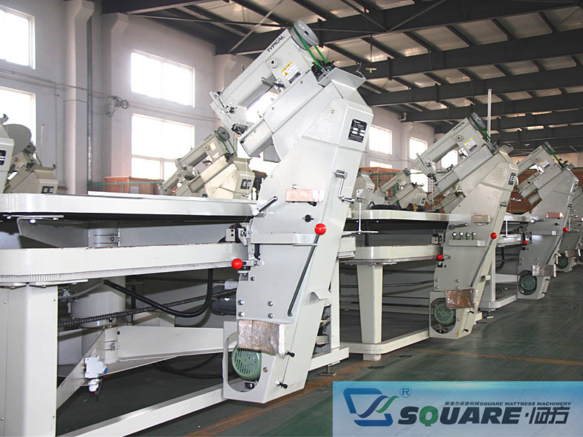 mattress tape edge machine to enter the international market