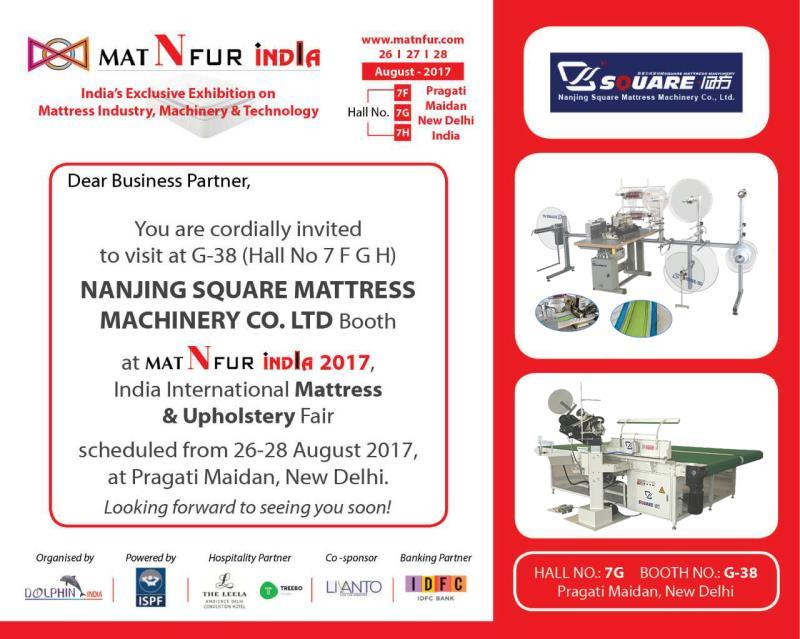 india exhibtion on mattress machine