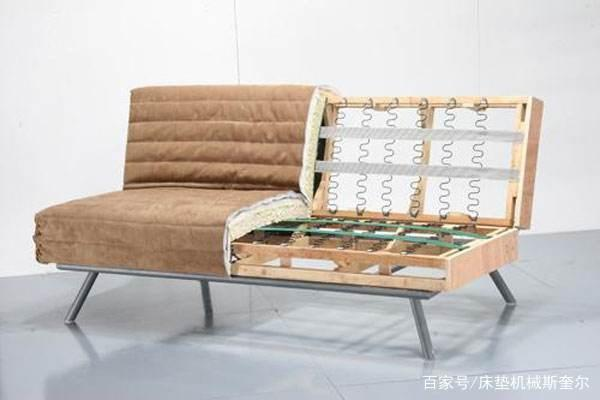 sofa with s shape spring